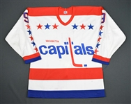 Engblom, Brian * <br>White<br>Washington Capitals 1982-83<br>#9 Size: 50