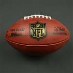 Game-Used Football<br>Game-Used Football from December 19, 2016 vs. Carolina Panthers - Kicking Ball - WK 15<br>Washington Redskins 2016