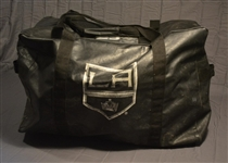 Pearson, Tanner<br>Black Vinyl Equipment Bag, Stanley Cup-Winning Season<br>Los Angeles Kings 2013-14<br>#70 Size: 30  x 15  x 20