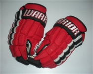 Barr, Dave<br>Warrior Bonafide Gloves<br>New Jersey Devils 2013-14