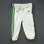 Lindley, Trevard<br>1960 White and Kelly Green Throwback Pants<br>Philadelphia Eagles 2010<br>#35 Size: 32