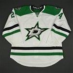 Benn, Jordie<br>White Set 1<br>Dallas Stars 2016-17<br>#24 Size: 56