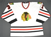 Hackett, Jeff * <br>White Set 2<br>Chicago Blackhawks 1993-94<br>#31