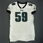 Cole, Nick<br>White<br>Philadelphia Eagles 2009<br>#59 Size: 09-54 O