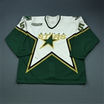 Bouck, Tyler * <br>White Preseason<br>Dallas Stars 2000-01<br>#55 Size: 56