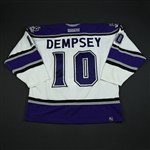 Dempsey, Nathan * <br>White 3rd Regular Season<br>Los Angeles Kings 2003-04<br>#10 Size: 56