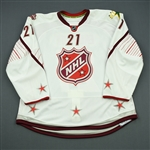 Eriksson, Loui<br>White Set 2 of 3 - Game-Issued (GI) before Fantasy Draft<br>All Star 2010-11<br>#21 Size: 56