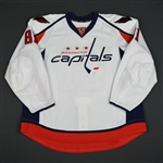 Basso, Alex<br>White Set 1 - Training Camp Only<br>Washington Capitals 2015-16<br>#81 Size: 58
