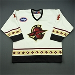 Colbert, Will<br>White Set 1<br>Gwinnett Gladiators 2010-11<br>#4 Size: 54