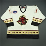 Kissel, Dan<br>White Set 1<br>Gwinnett Gladiators 2010-11<br>#11 Size: 56
