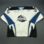 Lessard, Junior<br>White Set 1<br>Idaho Steelheads 2010-11<br>#25 Size: 56