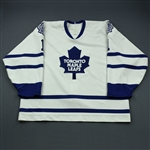 Rhodes, Damian * <br>White<br>Toronto Maple Leafs 1995-96<br>#1 Size: 58