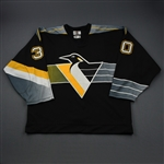 Aubin, Jean-Sebastien * <br>Black Set 2<br>Pittsburgh Penguins 1998-99<br>#30 Size: 58G