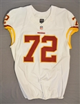 Bowen, Stephen<br>White Regular Season<br>Washington Redskins 2014<br>#72 Size: 50 LINE