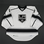 Enroth, Jhonas<br>White Set 2<br>Los Angeles Kings 2015-16<br>#1 Size: 58G