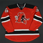 Cohen, Matt<br>Red (RBK 1.0) - CLEARANCE<br>Lowell Devils 2007-08<br>#6 Size: 56