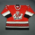 Stewart, Chris * <br>Red<br>Albany River Rats 2006-07<br>#21 Size: 54