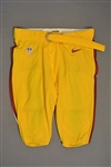 Chester, Chris<br>Yellow Pants<br>Washington Redskins 2014<br>#66 Size: 42