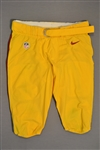 Compton, Tom<br>Yellow Pants<br>Washington Redskins 2014<br>#68 Size:42