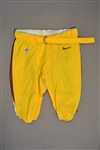 Baker, Chris<br>Yellow Pants<br>Washington Redskins 2014<br>#92 Size: 40