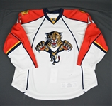Bitz, Byron * <br>White<br>Florida Panthers 2009-10<br>#12 Size: 58