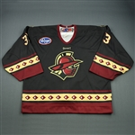 Johnson, Josh<br>Black Set 1<br>Gwinnett Gladiators 2008-09<br>#33 Size: 58G