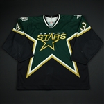 Boucher, Philippe<br>Green 3rd Regular Season<br>Dallas Stars 2002-03<br>#43 Size: 58
