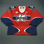 Ostergard, Brooks<br>Red Set 1<br>Kalamazoo Wings 2012-13<br>#30 Size: 58G
