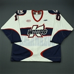 Rai, Prab<br>White Set 1<br>Kalamazoo Wings 2012-13<br>#10 Size: 56