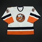 Papineau, Justin<br>White 3rd Regular Season<br>New York Islanders 2003-04<br>#26 Size: 54