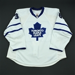 Stralman, Anton<br>White Set 1<br>Toronto Maple Leafs 2008-09<br>#36 Size: 58