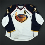 Havelid, Niclas<br>White Set 1 w/A<br>Atlanta Thrashers 2008-09<br>#28 Size: 56