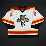 Krajicek, Lukas<br>White Preseason<br>Florida Panthers 2002-03<br>#29 Size: 56