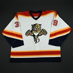 Novoseltsev, Ivan<br>White Preseason/1st Regular Season<br>Florida Panthers 2003-04<br>#39 Size: 56