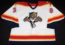 Novoseltsev, Ivan<br>White 1st Regular Season<br>Florida Panthers 2003-04<br>#39 Size: 56