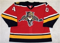 Nedorost, Vaclav<br>Third Set 1<br>Florida Panthers 2003-04<br>#40 Size: 56
