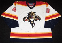 Nedorost, Vaclav<br>White 2nd Regular Season<br>Florida Panthers 2003-04<br>#40 Size: 56