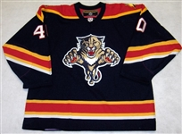 Nedorost, Vaclav<br>Blue 2nd Regular Season<br>Florida Panthers 2003-04<br>#40 Size: 56