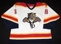 Ritchie, Byron<br>White 1st Regular Season<br>Florida Panthers 2003-04<br>#19 Size:54