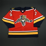 Stewart, Anthony<br>Third Set 1<br>Florida Panthers 2005-06<br>#57 Size: 56