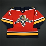McLennan, Jamie<br>Third Set 1<br>Florida Panthers 2005-06<br>#29 Size: 58