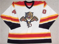 Jacina, Greg<br>White Set 3 GI<br>Florida Panthers 2005-06<br>#40 Size: 56