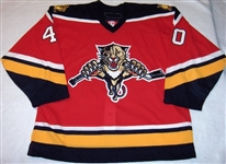 Jacina, Greg<br>Third Set 1<br>Florida Panthers 2005-06<br>#40 Size: 56