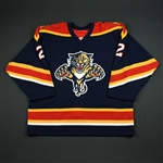 NNOB<br>Blue Set 1 GI<br>Florida Panthers 2005-06<br>#2 Size: 54