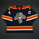 NNOB<br>Blue Set 1 GI<br>Florida Panthers 2005-06<br>#40 Size: 56