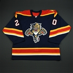 NNOB<br>Blue Set 1 GI<br>Florida Panthers 2005-06<br>#20 Size: 56