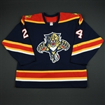 NOBR<br>Blue Set 1 GI<br>Florida Panthers 2005-06<br>#24 Size: 56