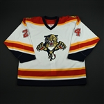 NOBR<br>White Set 1 GI<br>Florida Panthers 2005-06<br>#24 Size: 56