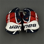 Brouwer, Troy<br>Bauer Vapor APX Gloves<br>Washington Capitals 2014-15<br>#20