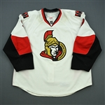 Michalek, Milan<br>White Set 2<br>Ottawa Senators 2010-11<br>#9 Size: 58